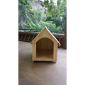 Casa Para Cães/cachorros De Madeira Pinus Número 4