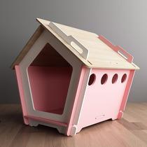 Casinha De Cachorro Desmontável E Ecológica Kinghaus Pequena