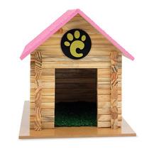 Casinha Para Cachorros Pequeno Porte Serrana Rosa 7002 Carlu