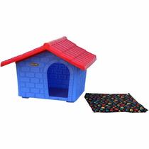 Casinha De Cachorro Colonial Grande - Azul - Ranniplay