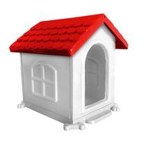 Casinha Para Cachorro Gato P Azul Vermelha Rosa Pet Stilo
