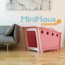 Casinha De Cachorro Desmontável E Ecológica Minihaus Média
