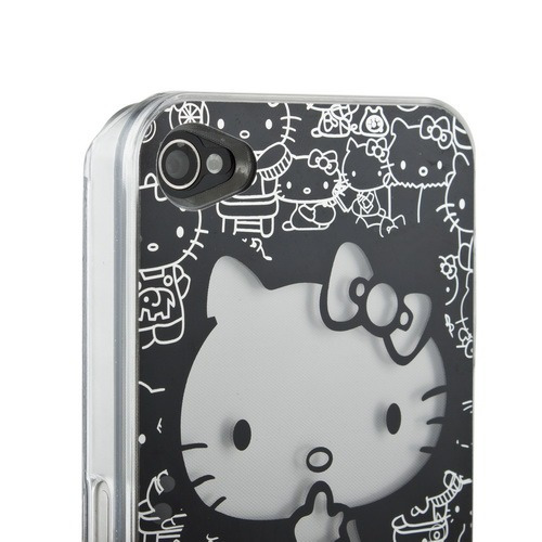 Case Hello Kitty Luminosa Para Iphone 4 E 4s Acende Luz!