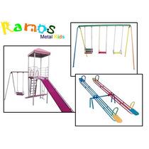 Conjunto Bilu 01 - Casinha - Gangorra - Balanço - Playground