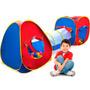 Toca Barraca Instantanea 3x1 Com Bolinhas Bang Toys