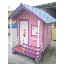 Casinha Para Crianças, Madeira, Telha Ecológica Pvc, Tam P.