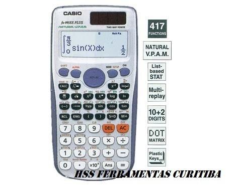 Casio Fx-991 Es Plus Remessa Imediata- Frete Grátis