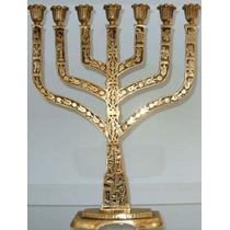 Menorah De Israel - Candelabro Judaico - Simbolo Judaismo Mp