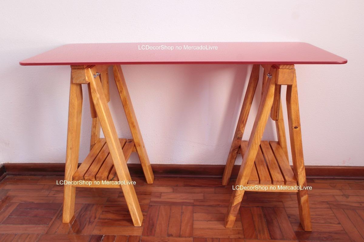 cavalete mesa escritorio madeira tok stok etna design anos50 #A56226 1200x798