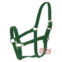 Cabresto Importado Em Nylon Verde Musgo - Kauana 14970