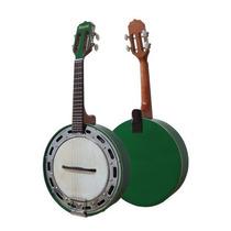 Banjo Rozini Verde Studio Eletrico Com Capsula Le Son + Bag