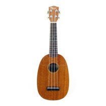 Ukulele Ohana Pk-10s Pinapple Soprano Mogno Natural * New *