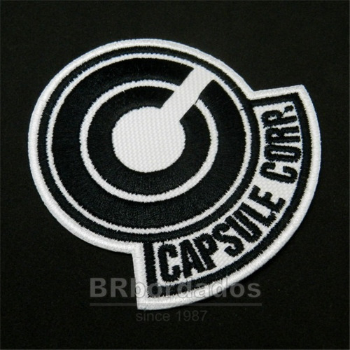 Capsule Corps Patch gt Capsule Corp Tag Patch