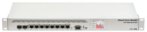 Ccr1009 8g 1s 1s+ 1.2ghz 2gb 1sfp 9gbit Dual Power Lcd Lvl6