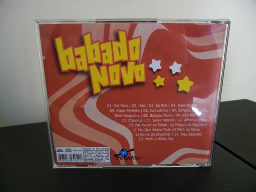 Cd Babado Novo - Cai Fora