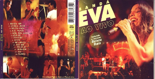 Cd Banda Eva Ao Vivo