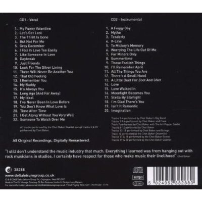 Cd Chet Baker - Jazz Manifesto ( Duplo Lacrado - Frete Grati