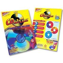 100 Etiquetas Adesivas Fastlabel / Personalizar Cd / Dvd