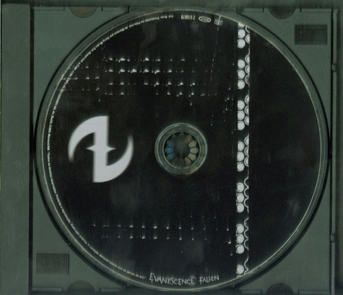 evanescence fallen cd: