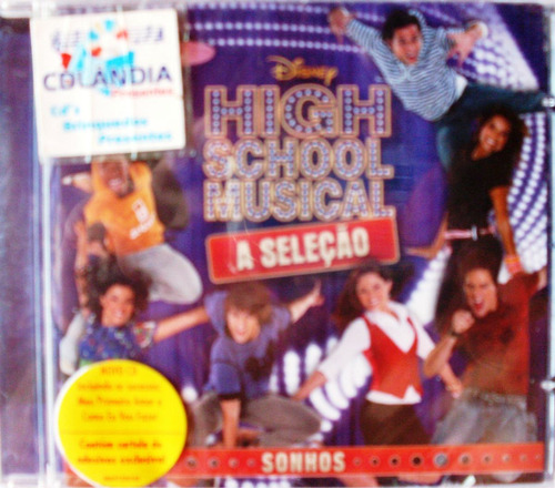 Cd High Scoll Musical- Sonhos-original - Lacrado-cdlandia