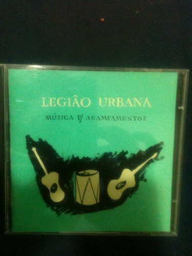 Cd Legião Urbana Música Para Acampamentos
