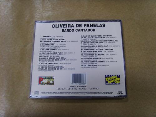 Cd - Oliveira De Panelas - Bardo Cantador