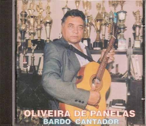 Cd: Oliveira De Panelas / Bardo Cantador