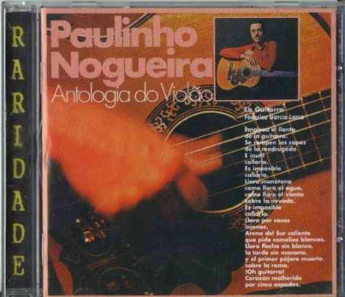 Cd Paulinho Nogueira - Antologia Do Violão - 1976