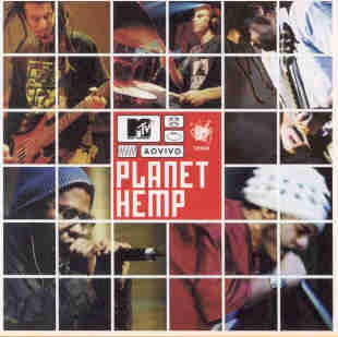 Cd Planet Hemp - Mtv Ao Vivo