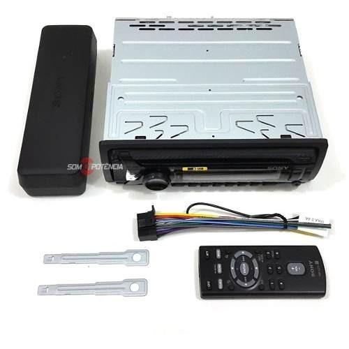 Cd Player Automotivo Sony Xplod Cdx Fm Mp3 Usb