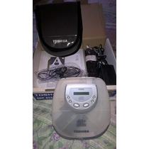Diskman Toshiba Cdp - 4157 - Translulido, Completo, Na Caixa