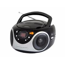 Radio Portatil Cd Player Radio Am Fm Boombox Aux Bivolt