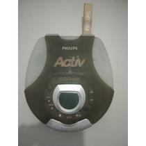 Cd Player Portatil Discman Philips Esp 48 Prova D