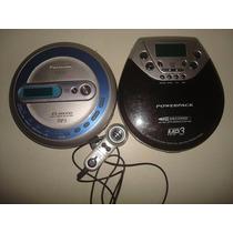 2 Cd Player C/ Rádio E Mp3 - Leia O Anúncio - R$ 70,00 Os 2.