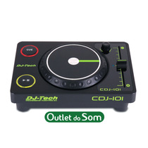Controlador Dj Scratch Usb/midi Dj-tech - Cdj 101