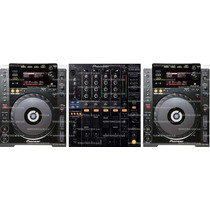 Kit Cdj900 + Mixer900 Pronta Entrega É No Territorio Dos Djs
