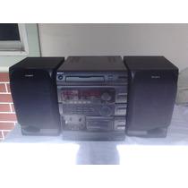 Aparelho De Som System Sony Fh-g70 Preto Amplificador Barato