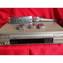 Videokê Raf Vmp 9000+3 Cartuchos+ Microf.+c.remoto