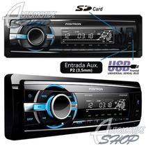 Mp3 Player Automotivo Positron Usb/ Sd Card Sp2200ub