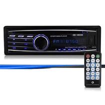 Auto Rádio Usb Mp3 Player Toca Cd Rca Am/fm 4x45w C/controle