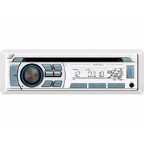 Radio Napoli Cd Mp3 Player Maritimo Cd-mr 6688w Usb