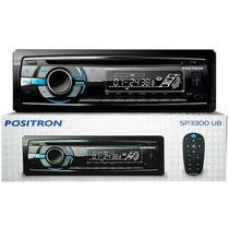 Cd Player Positron Sp3300 Ub Usb Sd Mp3 Am Fm