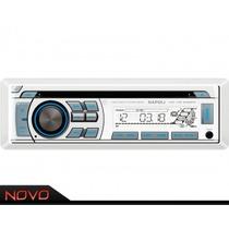 Radio Cd Mp3 Player Marinizado Napoli Cd-mr 6688w - Náutico
