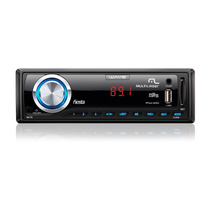 Auto Radio Media Player Usb Fm Sd Card Mp3 7 Cores De Painel
