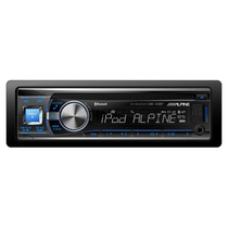 Cd/mp3 Player Alpine Cde-133bt C/ Entrada Usb E Bluetooth