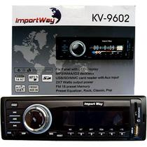 Player Mp3 Usb Sd Wma Aux Som Automotivon Importway Kv9602