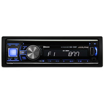 Toca Cd Alpine 133 Bt Usb Aux Mp3 Ipad Iphone Radio Am Fm