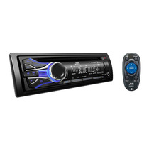 Cd Car Media Player Bluetooth Mp3 Usb Jvc Display Colorido