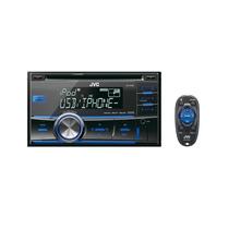 Cd Player Jvc Double Kw R500 Usb Am Fm Radio Mp3 Automotivo