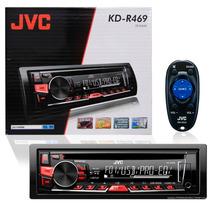 Cd Player Jvc Kd-r459 Usb Auxiliar Am Fm Controle Saída Rca